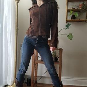 2/20$ Terra Nostra NWOT Ruffled Jacket Fairycore